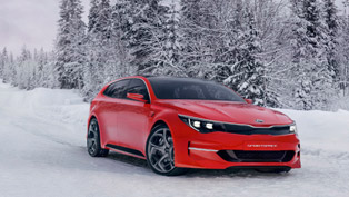 kia's mysterious concept is called sportspace and looks like a new charger