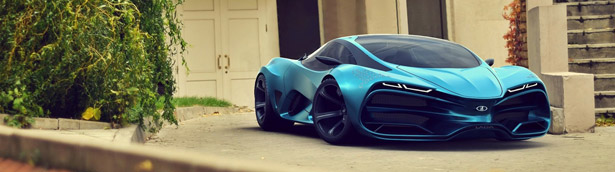 Lada Has in Mind a Supercar Concept? [VIDEO]