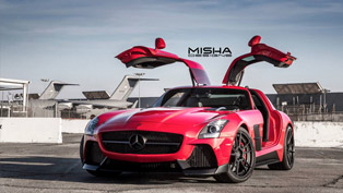 MISHA Designs Releases Stylish Gullwinged SLS AMG