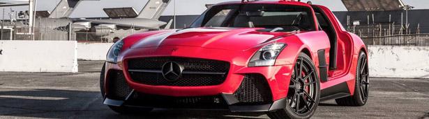 MISHA Designs Releases Stylish Gullwinged SLS AMG