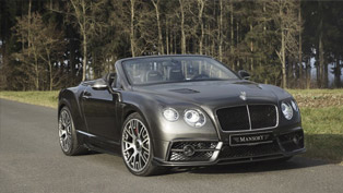 Mansory Creates 50 Exclusive Bentley Continental GT/C Editions