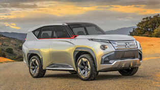 Mitsubishi Concept GC-PHEV Shows its Futuristic Design in Chicago