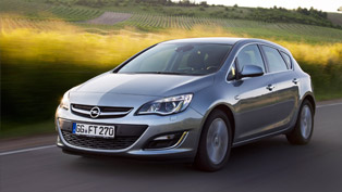opel astra with better fuel economy due to the addition of 1.6 cdti engine