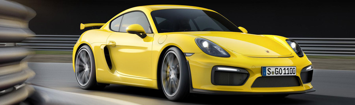 Next to Cayman GT4 Porsche will premiere a mysterious performance-bounded car.