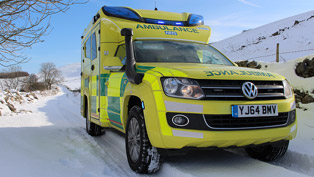 Volkswagen Reveals Unique Amarok Ambulance