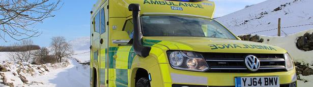 Volkswagen Reveals Unique Amarok Ambulance