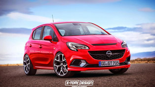 2015 Opel Corsa Envisioned in a 5-door Variant