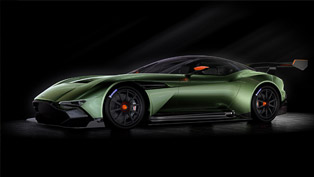 aston martin vulcan is all about horses and carbon!