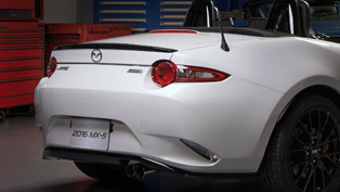 Mazda Shows the Back of MX-5 Miata Concept Ahead of Chicago Debut