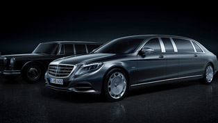 2016 Mercedes-Maybach Pullman Takes S-Class to a New Level