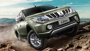 Fifth Generation Mitsubishi L200 is Debuting in Geneva