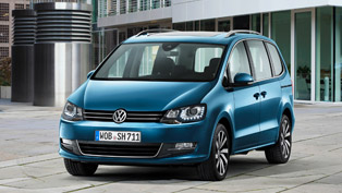 Volkswagen is Debuting Technically Updated Sharan in Geneva
