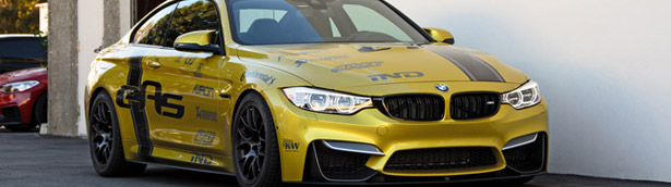 BMW M4 Shows Better Performance Due to Additional KW Coilover Kit [VIDEO]