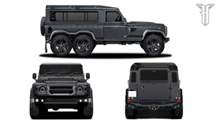 Flying Huntsman 110 WB 6x6 Concept Debuts in Geneva! Go See it!