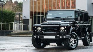 Kahn Releases Barolo Black Land Rover Defender XS 110