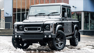 The Coolest 4x4 is Kahn Land Rover Defender Chelsea Wide Track