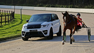 larte design range rover sport winner: winner at horse race
