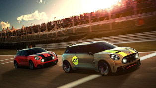 mini clubman vision gran turismo: small but furious