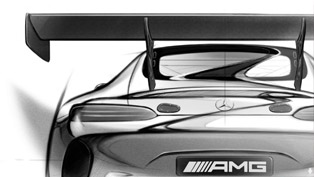 Mercedes-AMG GT3 Teased Before Its Debut