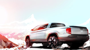 2016 honda ridgeline previewed in chicago
