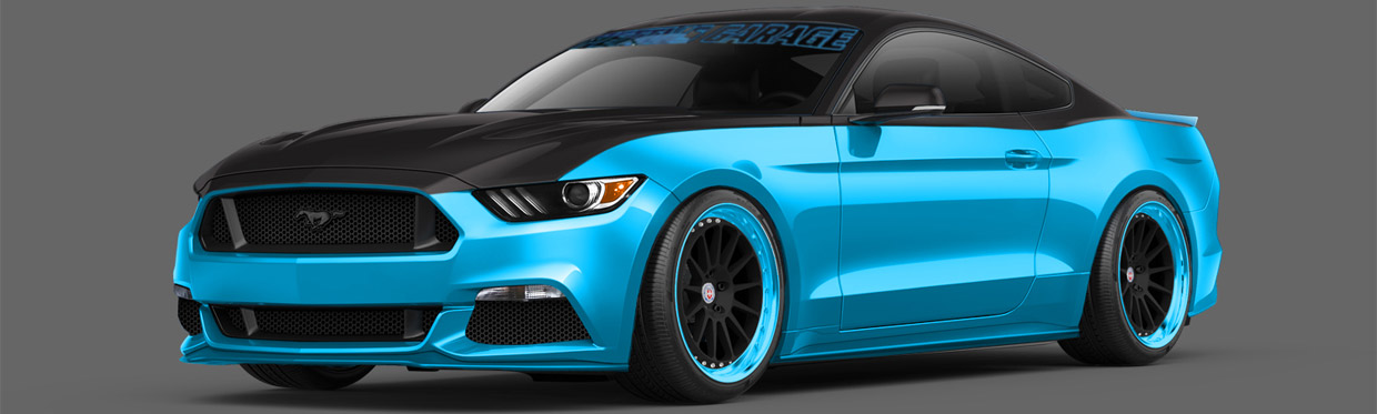Petty s garage mustang gt now available in official ford for Garage gt auto