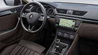 Skoda Reveals Superb's New and More Spacious Interior
