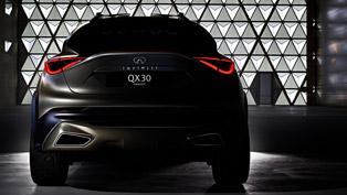 Infiniti QX30 Concept Teased