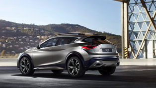first image of infiniti qx30 concept is released!