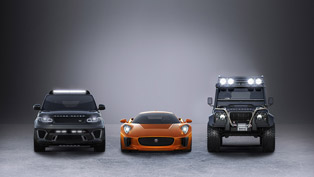 Jaguar Land Rover to Star in the Latest James Bond Movie