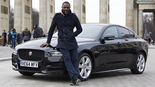 Idris Elba Tests Jaguar XE's Technology and Economical Credentials [VIDEO]