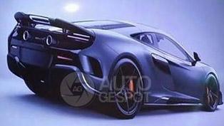 McLaren 675LT Official Image Leaked