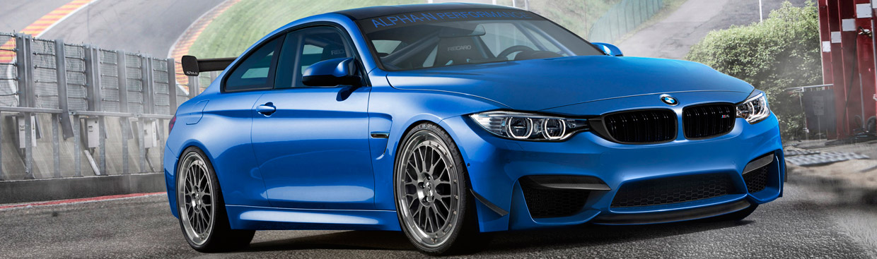 Alpha-N Performance BMW M4 Lighter and with More Power