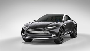 aston martin dbx concept: strange mix of luxury and all-electric awd