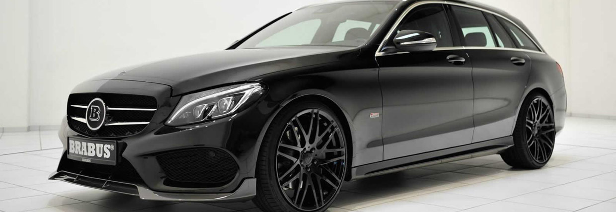 2015 Brabus Mercedes-Benz C-Class Wagon Side View