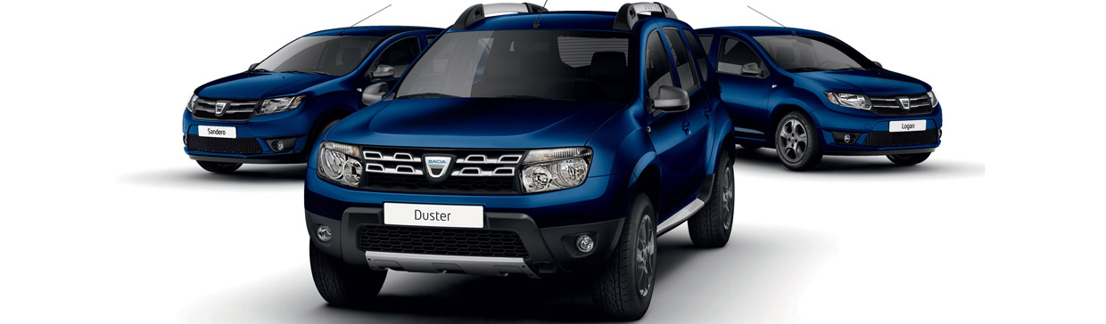 Dacia Laureate Prime Sandero, Duster and Logan Models