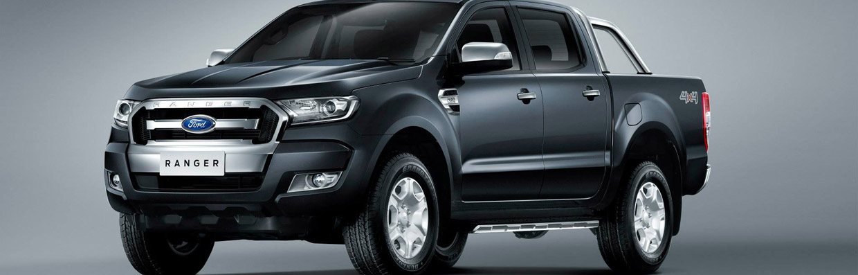 Ford Ranger Facelift Front and Side View