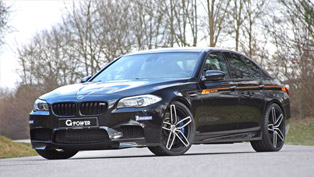 This is the Ultimate M5. G-Power Tunes it to crazy 740 HP