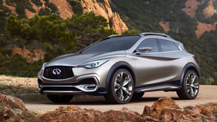 Infiniti QX30 Concept Previews Future Production Model [VIDEO]