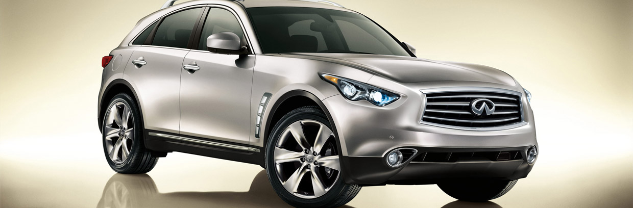 2015 Infinit QX50 Front and Side View
