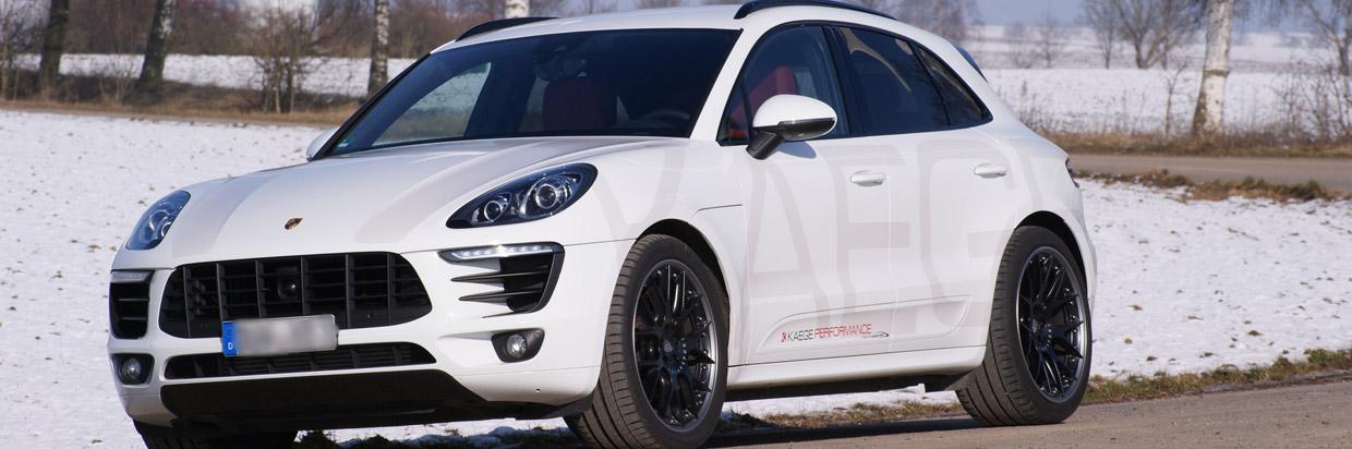 Kaege Porsche Macan S Front and Side View