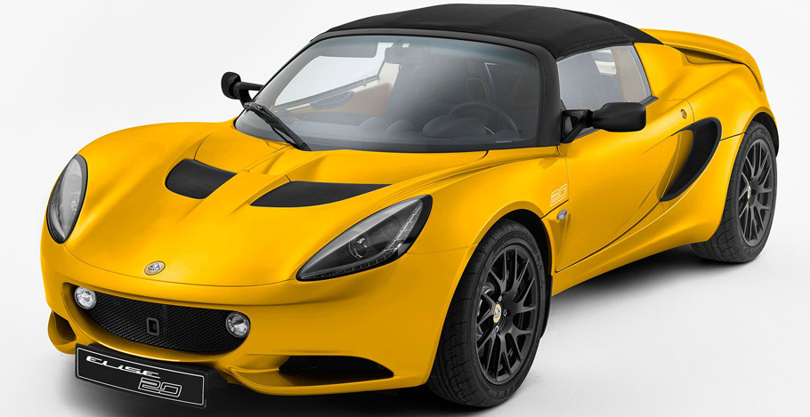 Lotus Elise Anniversary Special Edition Front Side Left View