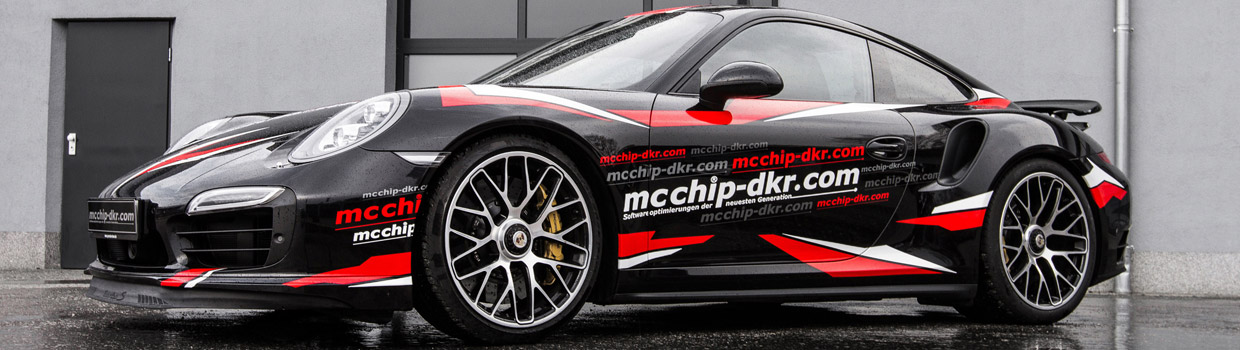 MCCHIP-DKR Porsche 911 Turbo S Side View