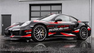 porsche 911 turbo s gets mcchip-dkr three-stage treatment