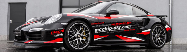 Porsche 911 Turbo S Gets MCCHIP-DKR Three-Stage Treatment