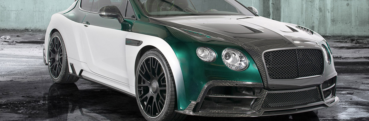 Mansory GT Race Front and Side View