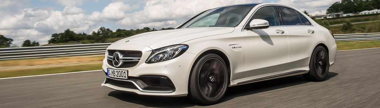 Mercedes-AMG C63 Side View
