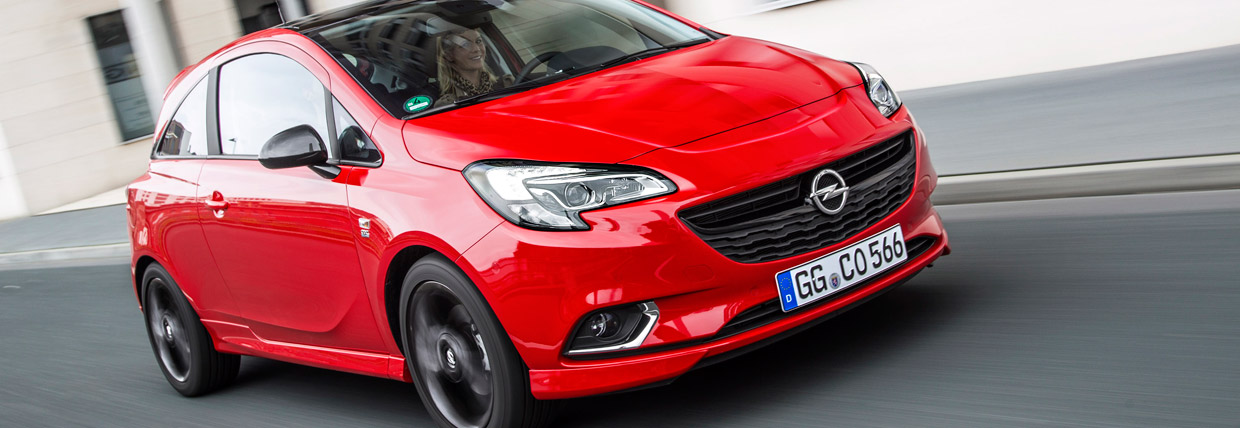 Opel Corsa ECOTEC Turbo Front and Side View