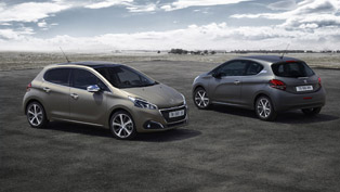 Peugeot 208 Comes with Special Paint Technology