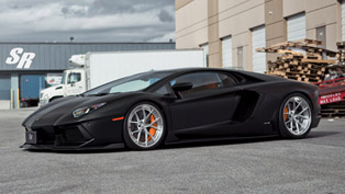 SR Auto Surprises with Aero Package for Lamborghini Aventador