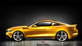 saleen unveils mustang black label with unexpected 730hp [video]